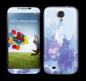 Purple pastel Skin Galaxy S4