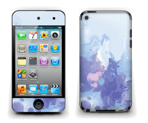 Splash violet Skin IPod Touch 4th Gen