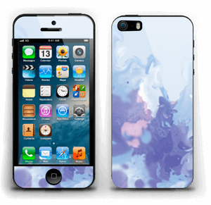 Pastell lilla Skin IPhone 5s