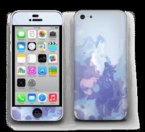 Pastel lilás Skin IPhone 5c