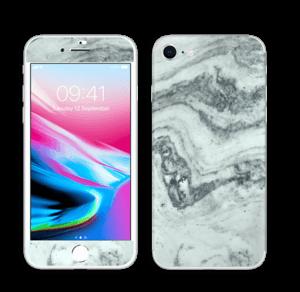 Mármore cizento Skin IPhone 8