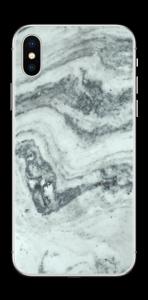 Grønn pastellmarmor Skin IPhone X