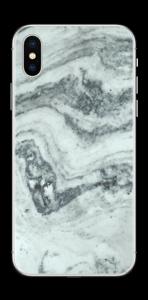 Green loves grey Skin IPhone XS