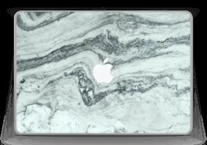 "Grønn pastellmarmor Skin MacBook Pro 13"" -2015"