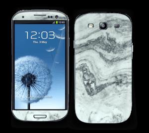 Grøn pastelmarmor Skin Galaxy S3