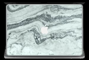 "Grønn pastellmarmor Skin MacBook Pro 15"" -2015"
