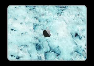 """Blå iset marmor Skin MacBook Pro 13"""" 2016-"""