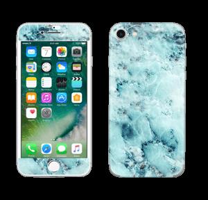 Gelo azul Skin IPhone 7