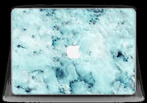 """Blå iset marmor Skin MacBook Pro Retina 13"""" 2015"""
