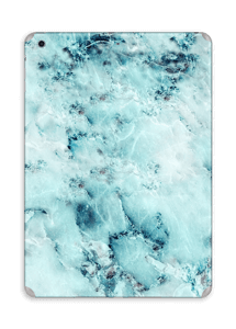 Blå iset marmor Skin IPad Air
