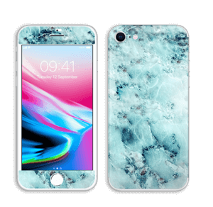 Gelo azul Skin IPhone 8
