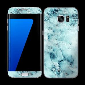 Gelo azul Skin Galaxy S7 Edge