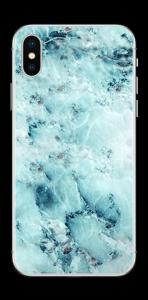 Gelo azul Skin IPhone X