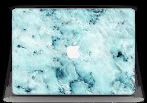 """Blå iset marmor Skin MacBook Air 13"""""""