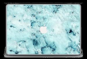 """Blå iset marmor Skin MacBook Pro 15"""" -2015"""