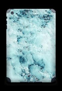 Blå iset marmor Skin IPad mini 2 back