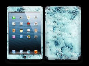 Blå iset marmor Skin IPad mini 2