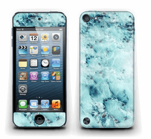 Blå iset marmor Skin IPod Touch 5th Gen