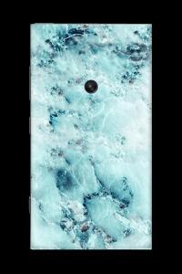Blå iset marmor Skin Nokia Lumia 920