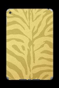 Golden Zebra Skin IPad Mini 4