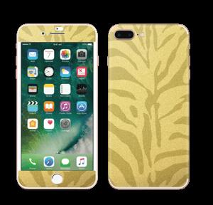Gullsebra Skin IPhone 7 Plus