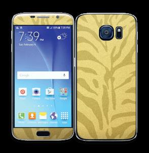 Gullsebra Skin Galaxy S6