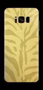 Zebra Gold Skin Galaxy S8