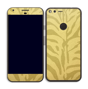 Zèbre doré Skin Pixel XL