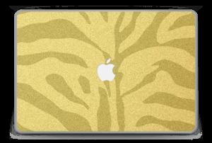 """Cebra Dorada Vinilo  MacBook Pro 15"""" -2015"""