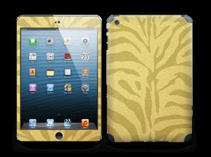 Golden Zebra Skin IPad mini 2