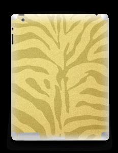 Gullsebra Skin IPad 4/3/2