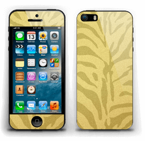 Gullsebra Skin IPhone 5s