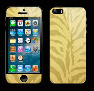 Gullsebra Skin IPhone 5s