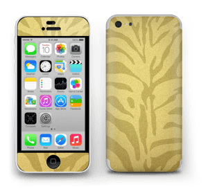 Gullsebra Skin IPhone 5c