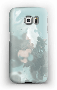PastellSplash deksel Galaxy S6 Edge