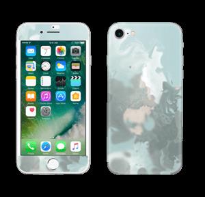 Pastel azul Skin IPhone 7
