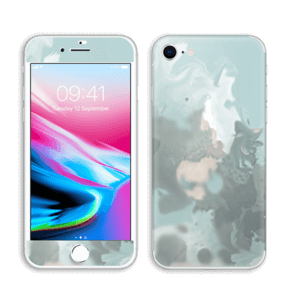 Pastel azul Skin IPhone 8