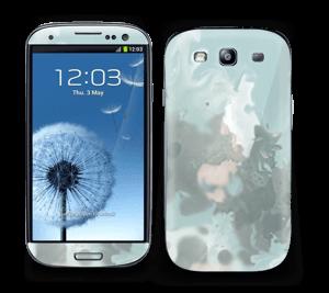 Turkise og blågrønne farger Skin Galaxy S3
