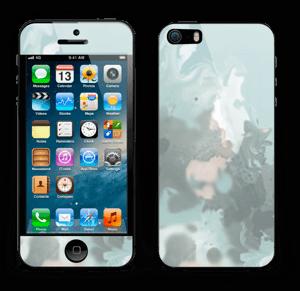 Turkise og blågrønne farger Skin IPhone 5s