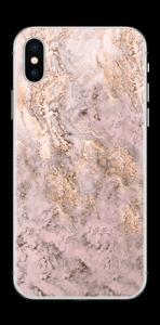 Rosa e dourado Skin IPhone X
