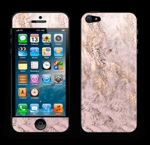 Rosa og gullmarmor Skin IPhone 5