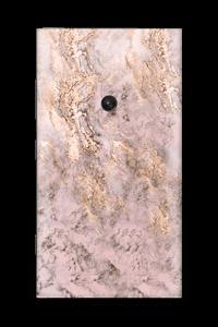 Rosa og gullmarmor Skin Nokia Lumia 920