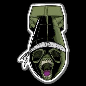 Stickerbomb Aufkleber
