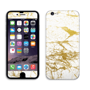 Hvitt og gull Skin IPhone 6/6s