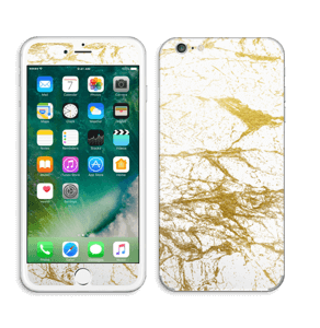 Hvitt og gull Skin IPhone 6 Plus
