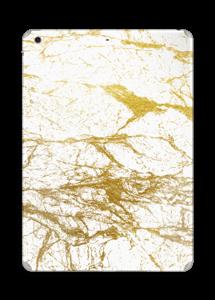 Hvitt og gull Skin IPad Air