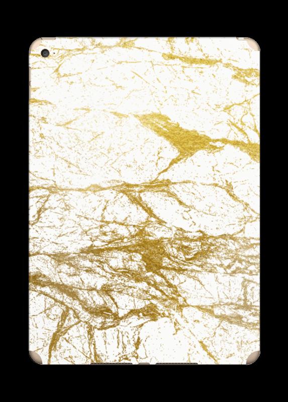 Hvitt og gull Skin IPad Air 2