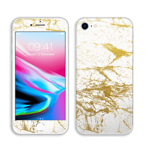 Hvitt og gull Skin IPhone 8