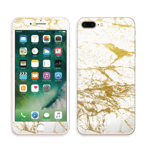 Hvitt og gull Skin IPhone 7 Plus