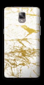 Hvitt og gull Skin OnePlus 3T